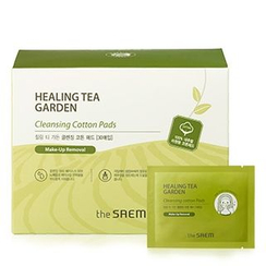 The Saem - Healing Tea Garden Cleansing Cotton Pads 30pcs