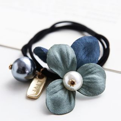 Gold Beam - Flower Hair Tie