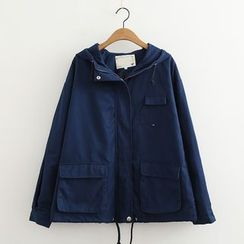 MAOMAO - Pocketed Hooded Jacket