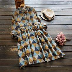 YOYO - Patterned A-Line Dress