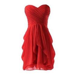 Charlotte - Strapless Mini Prom Dress