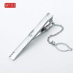 Xin Club - 简约金属领带夹