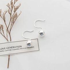 Love Generation - Mirrored Bead Sterling Silver Earrings