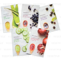 Innisfree - It's Real Squeeze 5-Piece Variety Mask