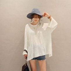 NANING9 - Loose-Fit Knit Top