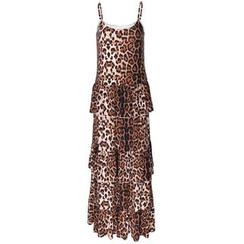Charlotte - Leopard-Print Maxi Dress