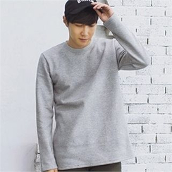 MITOSHOP - Brushed-Fleece Lined T-Shirt