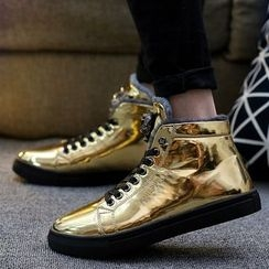 MARTUCCI - Shimmer High-Top Sneakers
