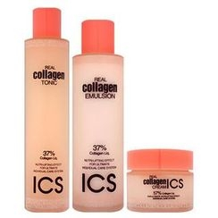 HANBUL - Set: Real Collagen Tonic 180ml + Emulsion 140ml + Cream 50ml