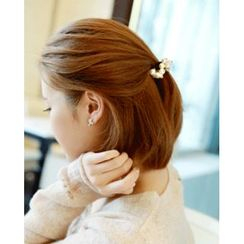 Miss21 Korea - Faux-Pearl Hair Tie