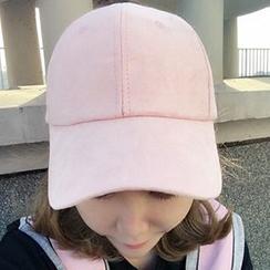 YUKISHU - Faux Suede Cap