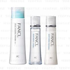 Fancl - Daily Care Set (Moisturizing Care Line I) (3 items): Washing Powder 50g + Lotion 30ml + Emulsion 30ml