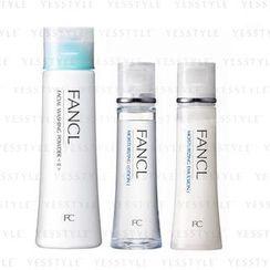 Fancl - Daily Care Set (Moisturizing Care Line I) (3 items): Washing Powder 50g + Lotion 30ml + Emulsion 30ml
