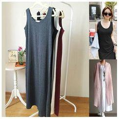 Rosadame - Plain Tank Dress
