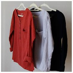Rosadame - 麻混紡長袖上衣