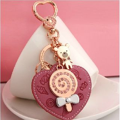MILESI - Heart Cartoon Keychain