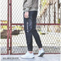 Bigboy - Embroidered Washed Jeans