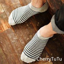 櫻桃兔兔 - 條紋襪子套裝