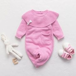 MOM Kiss - Baby Knit One-piece