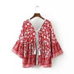 Chicsense - Printed Light Jacket