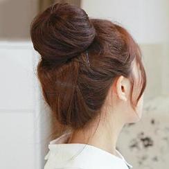 Pin Show - Human Hair Hair Bun