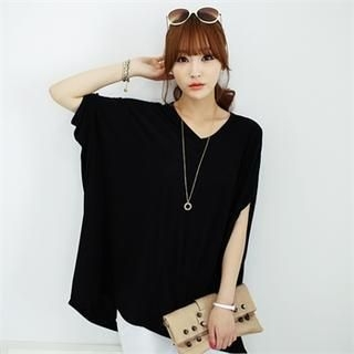 Soneed - Oversized Short-Sleeve T-Shirt