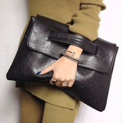Nautilus Bags - Faux Leather Shoulder Bag