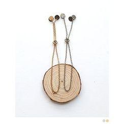 PINKROCKET - Dangling Chain Bracelet