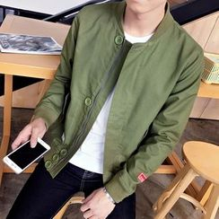 Bay Go Mall - Zip Light Jacket