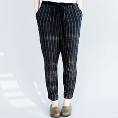 Showie - Striped Harem Pants
