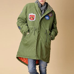 Bay Go Mall - Badge Detail Parka
