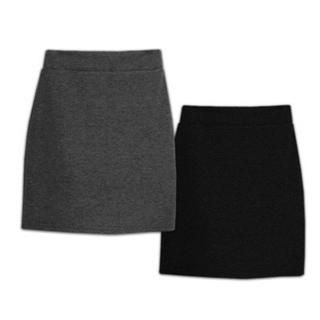 GOROKE - Brushed-Fleece Pencil Skirt