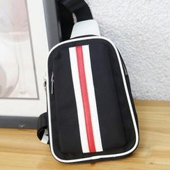 Yiku - Striped Sling Bag