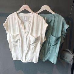 芷蓯夕 - 開領襯衣