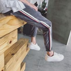 CooLook - Colour Block Straight Pants