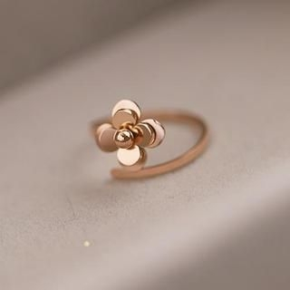 Love Generation - Camellia Adjustable Ring