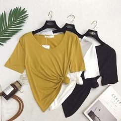 Honey House - Short-Sleeve Plain T-Shirt