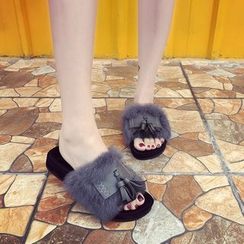 Yoflap - Furry Slide Sandals