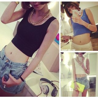 QZ Lady - Cropped Tank Top