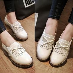 CITTA - Fringed Loafers