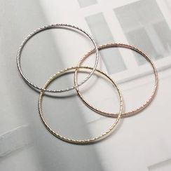 OrangeBear - 三色层次金属编织手环