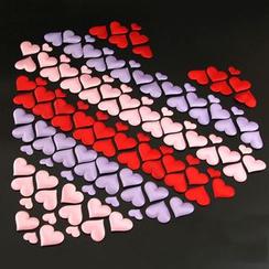 With Love - Heart Shaped Sponge Petal Confetti