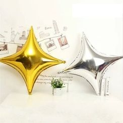 With Love - Star Foil Balloon