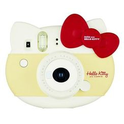 Fujifilm - Fujifilm Mini Hello Kitty Instant Camera Limited Edition Box Set (Red)