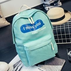 Youme - Lettering Backpack