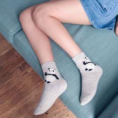 Socka - Pair of 3: Panda-Print Socks