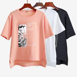 Lina - Print Short-Sleeve T-shirt