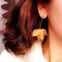 Ticoo - Flower Drop Earrings