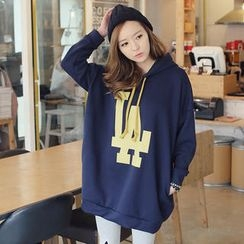 REDOPIN - Drawstring Hooded Pullover