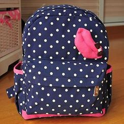 Ms Bean - Kids Dotted Backpack